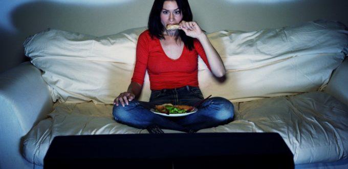 tv e cibo