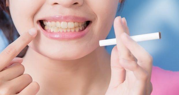denti e fumo